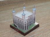 Papercraft building imprimible de la Torre de Londres. Manualidades a Raudales.