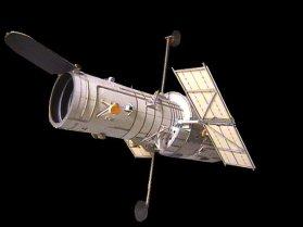 Papercraft imprimible y armable del Telescopio Hubble. Manualidades a Raudales.