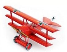 Papercraft del Avión Fokker_dr_1. Manualidades a Raudales.