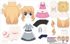 Papercraft Anime - Kaori Miyazono. Manualidades a Raudales.