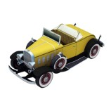 Papercraft imprimible y armable del Chevrolet Confederate Deluxe Sports Roadster. Manualidades a Raudales.