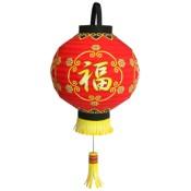 Papercraft imprimible y armable de una lámpara china. Manualidades a Raudales.
