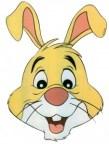 Caretas y máscaras de Winnie The Pooh. Manualidades a Raudales.