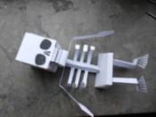 Papercraft de un Esqueleto. Manualidades a Raudales.