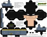 Cubeecraft de Batman. Manualidades a Raudales.