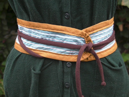 Cinturones de tela  ManualidadesManualidades