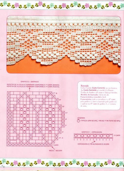 De Croche Com Graficos Blusas