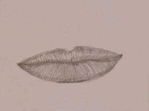 dibujo de boca