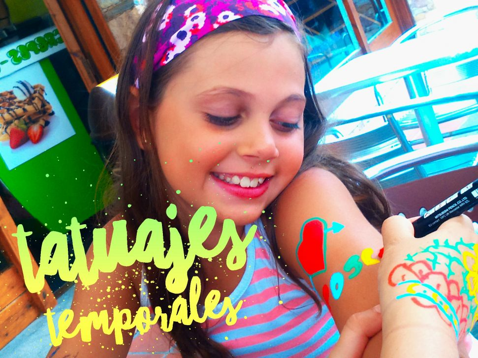 Tatuajes Temporales Con Rotuladores Actividades Para Niños
