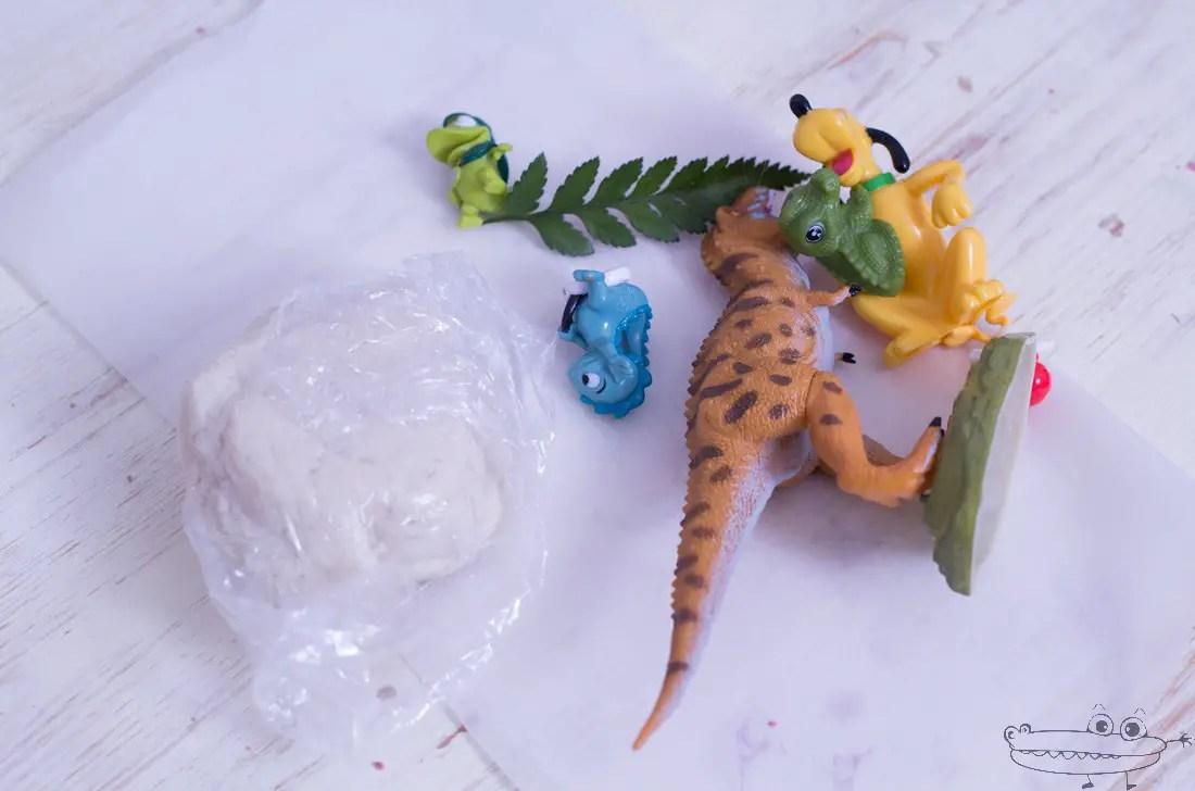 Fsiles de dinosaurios  Actividades para nios manualidades fciles y juegos creativos