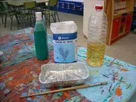 Experimentar con pintura vinagre y sal  Actividades para nios manualidades fciles y juegos creativos