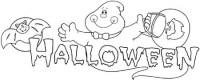 Dibujos Halloween para imprimir y colorear