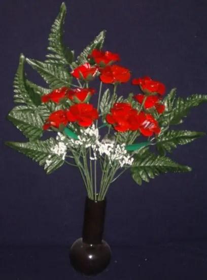 rosas con latas para sant jordi