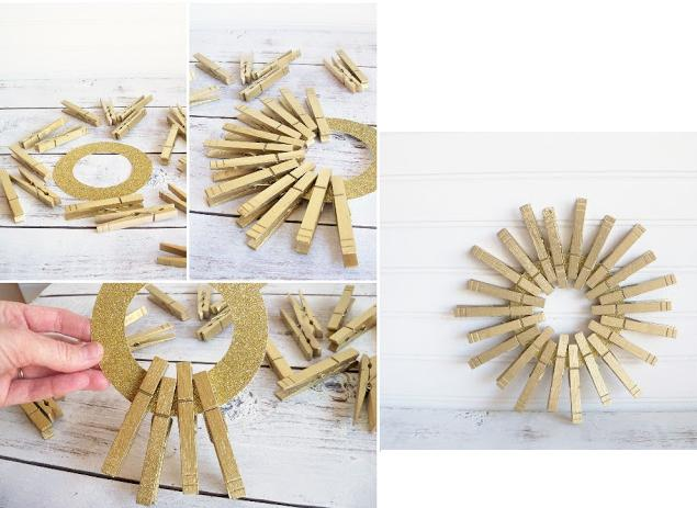 5 Coronas para Navidad paso a paso