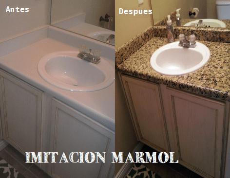 Imitacion Marmol para Encimeras