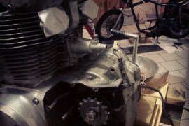 Honda CB450 - Engine Off