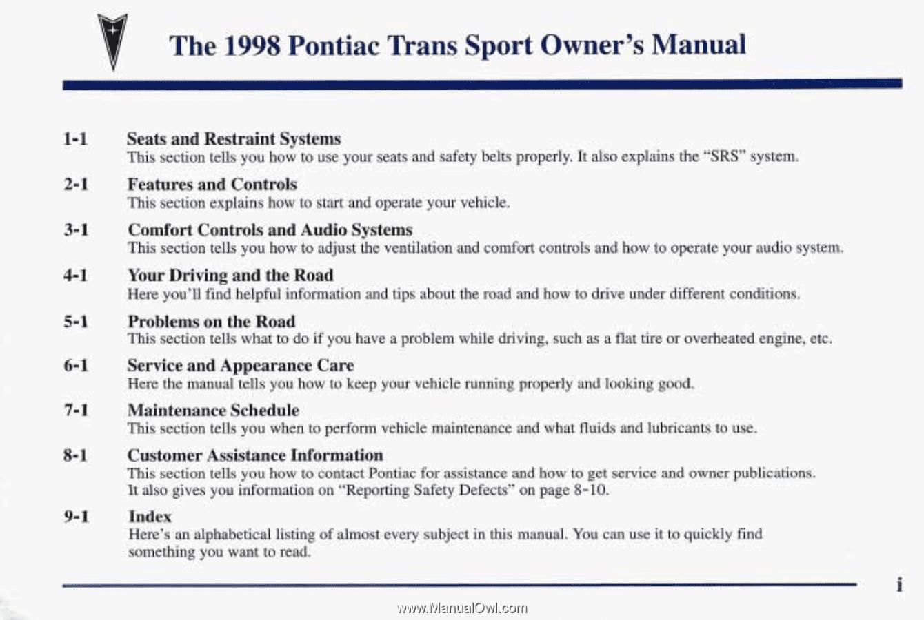 hight resolution of pontiac trans sport fuse box location