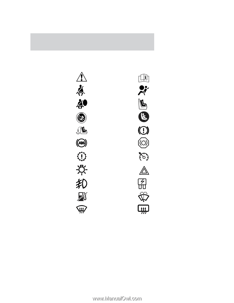 hight resolution of these are some of the symbols you may see on your vehicle