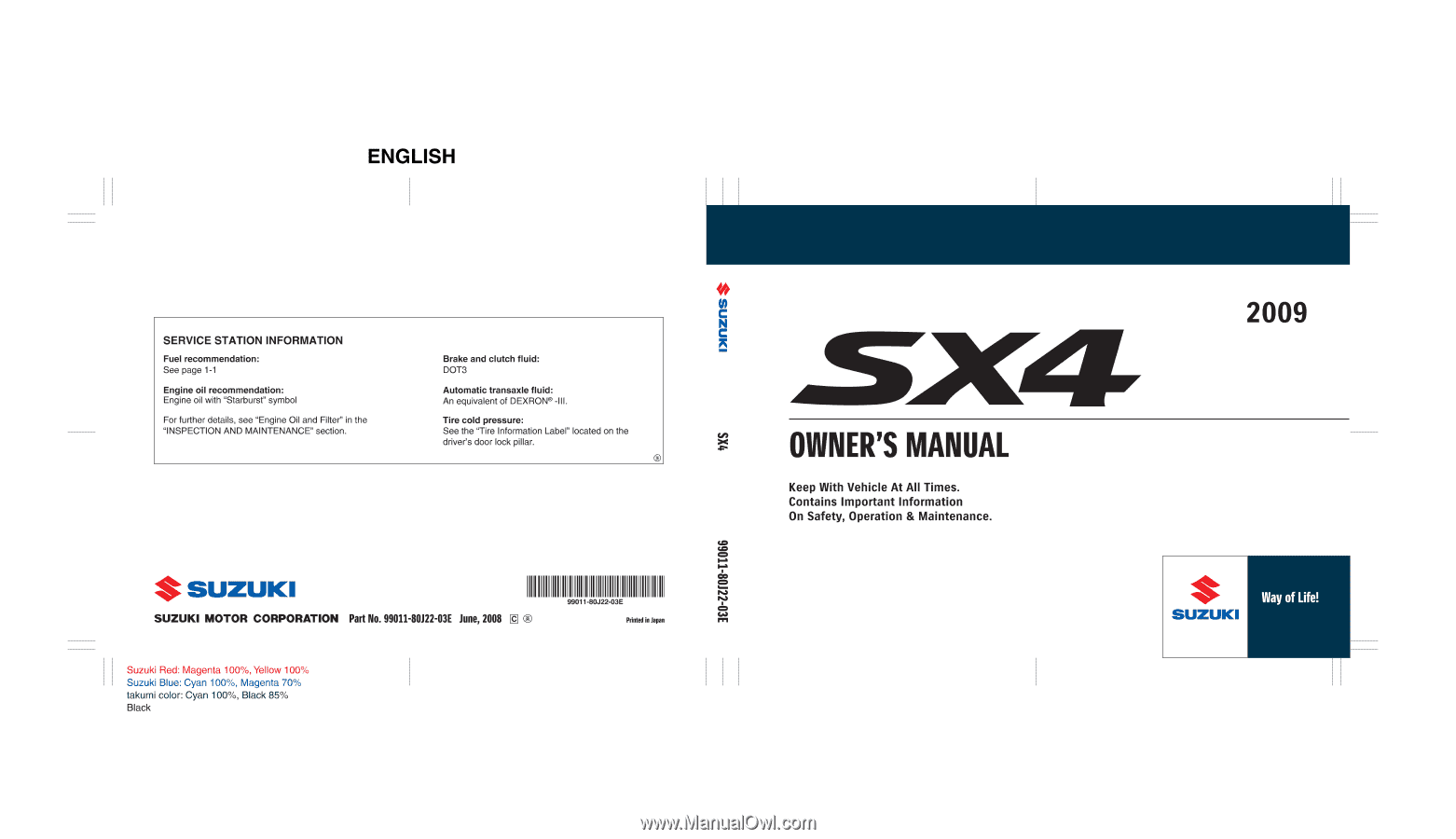 hight resolution of 80j22 03e this owner s manual applies to the sx4