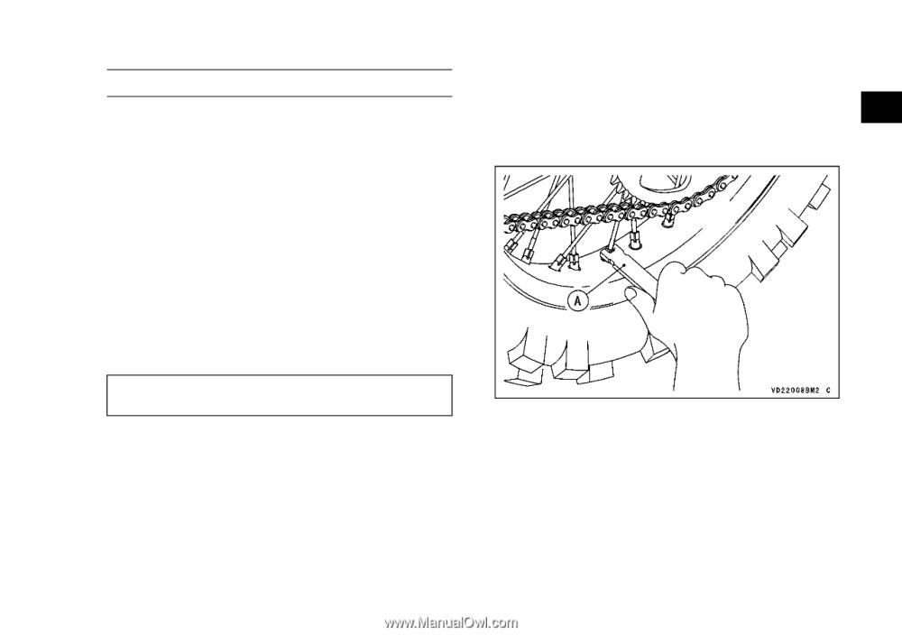 medium resolution of  2015 kawasaki klx140 owners manual page 78 on friendship bracelet diagrams troubleshooting diagrams