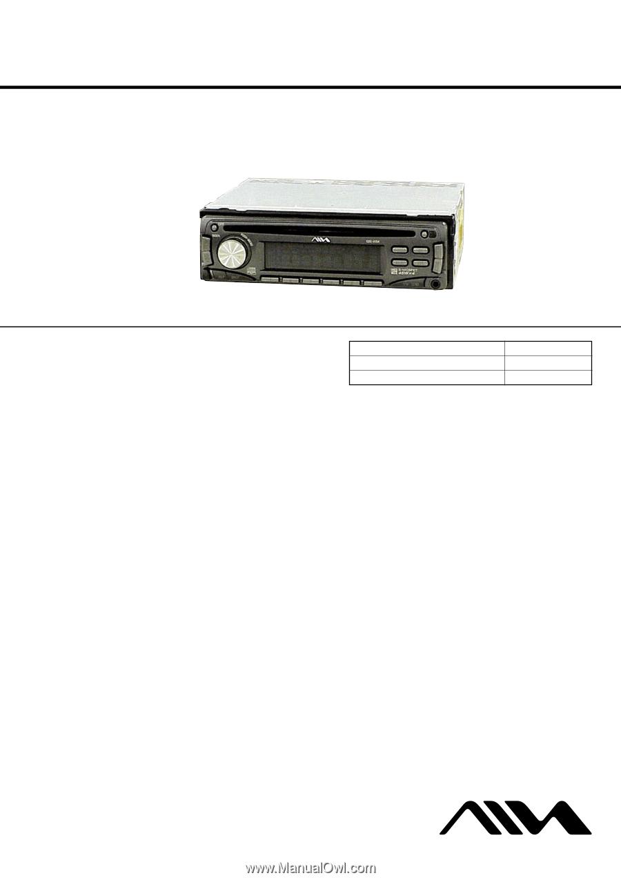 medium resolution of aiwa cdc r104 service manual 1