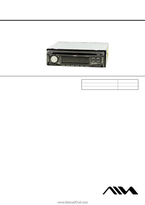 small resolution of aiwa cdc r104 service manual 1