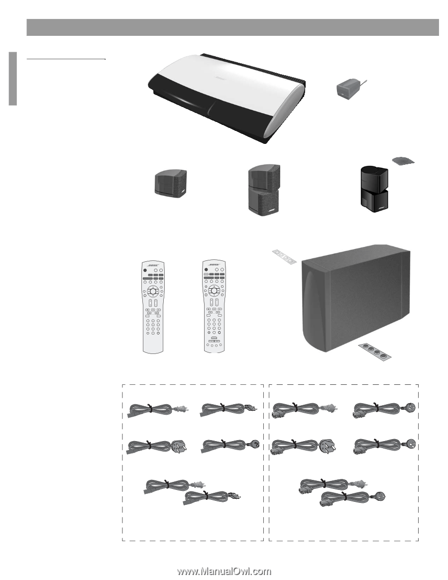 hight resolution of  bose lifestyle 48 installation guide on bose 321 wiring diagram bose sounddock wiring