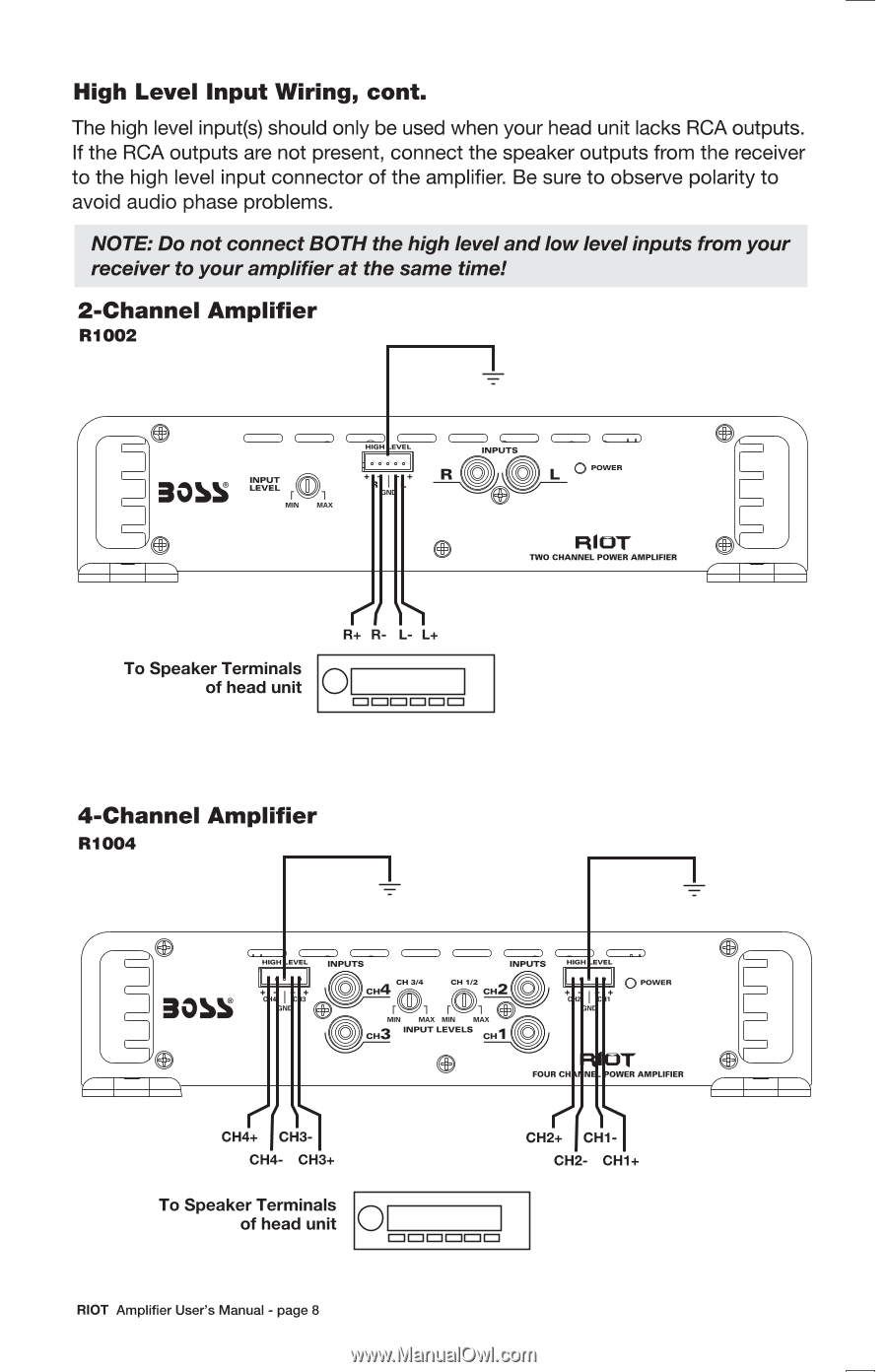 medium resolution of  boss r1004 wiring diagram wiring diagram schematics on boss amp manual boss car radio