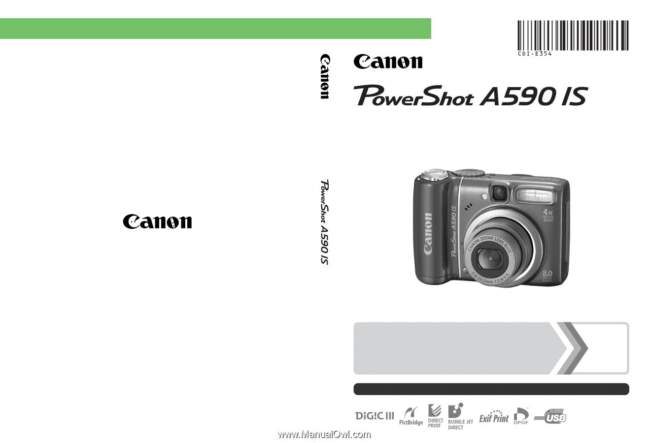 Canon camera user manual