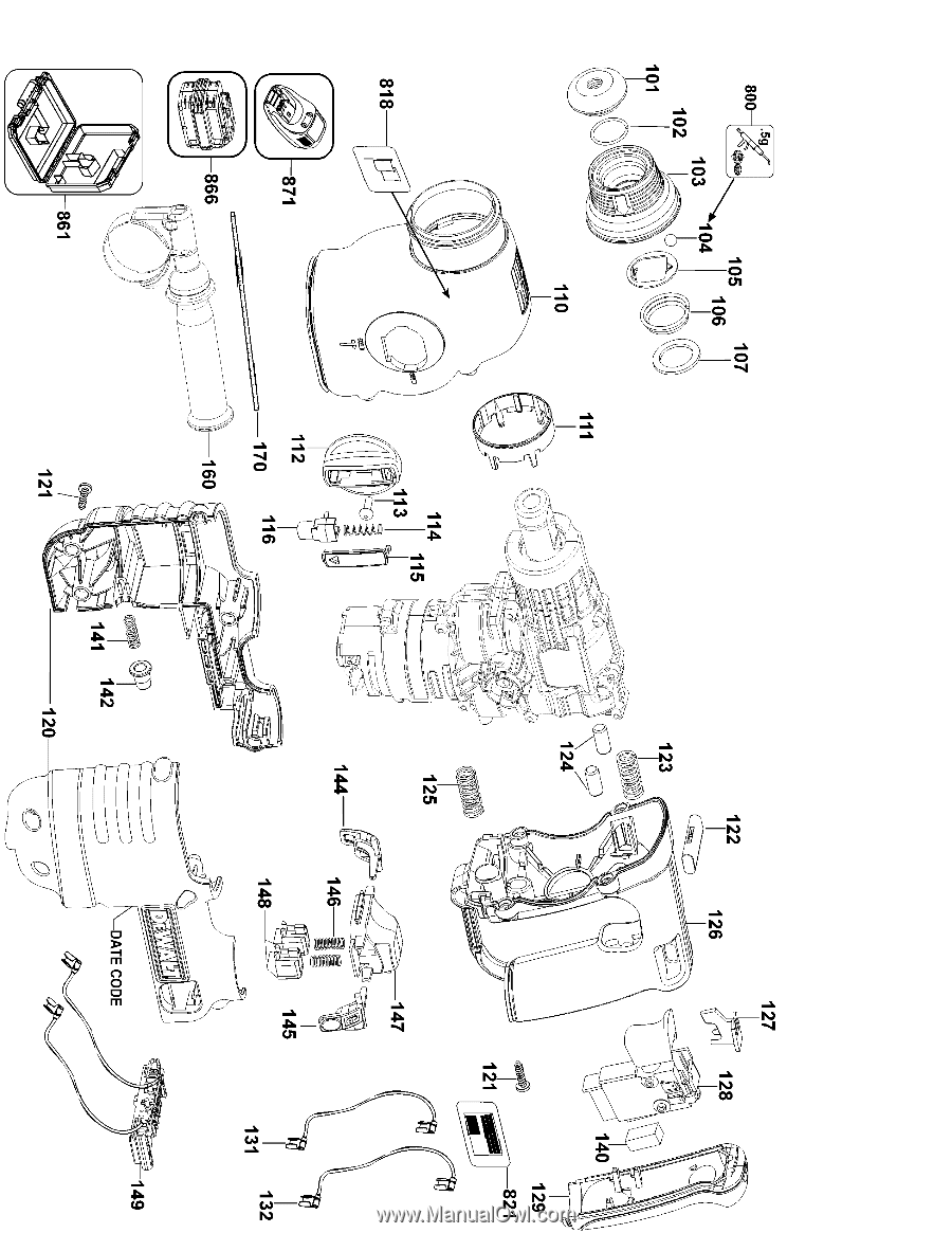 hight resolution of parts list for dc223ka type 2