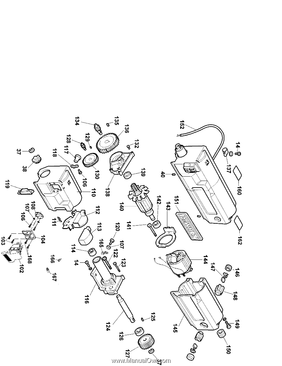 De Walt 734 Planer Manual