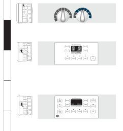 about the controls on the refrigerator consumer support troubleshooting tips installation instructions [ 900 x 1165 Pixel ]