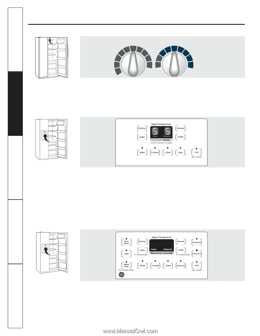 medium resolution of about the controls on the refrigerator consumer support troubleshooting tips installation instructions