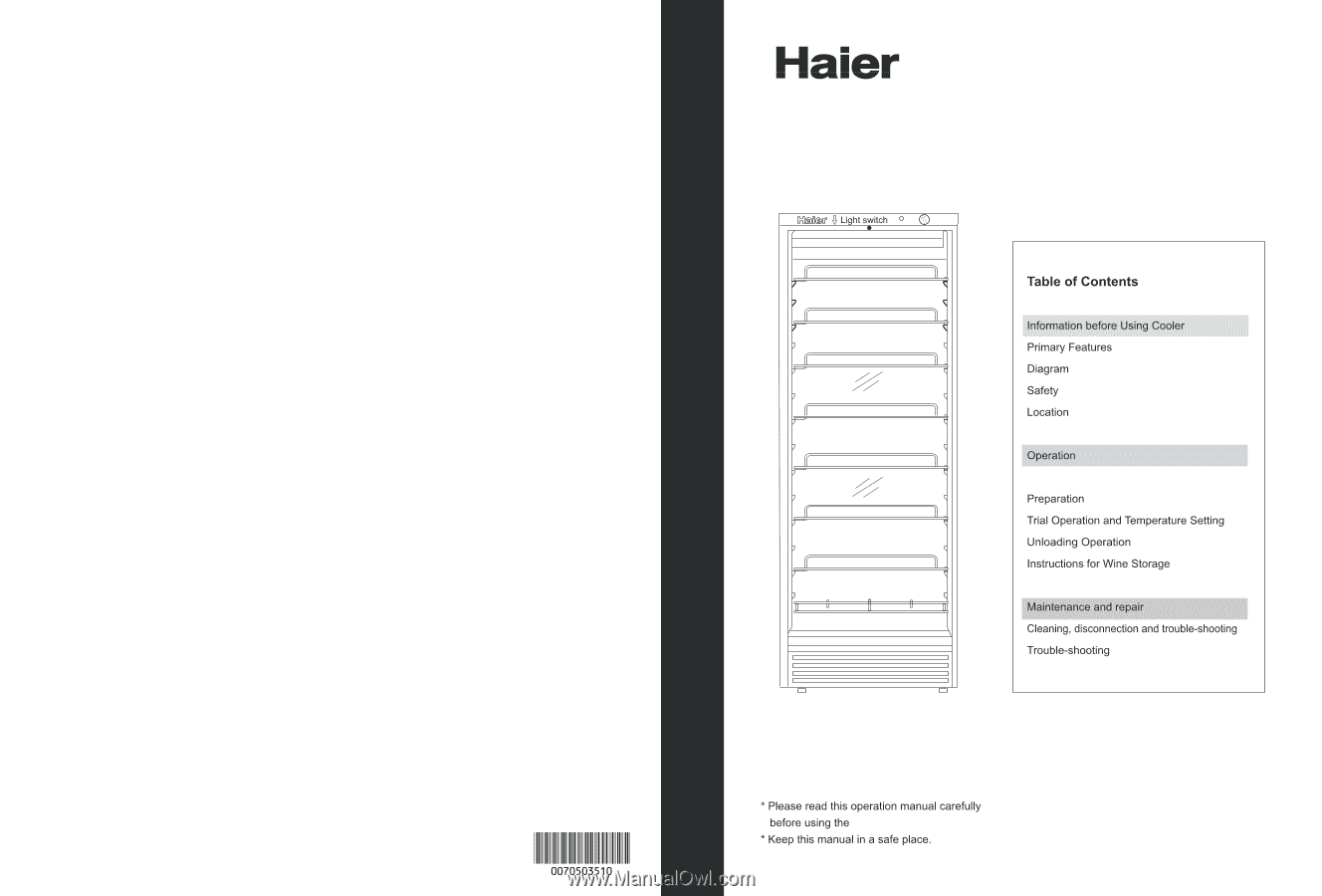 HAIER MANUAL PDF - Auto Electrical Wiring Diagram on