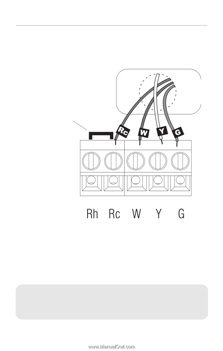 hight resolution of rth2310 programmable thermostat