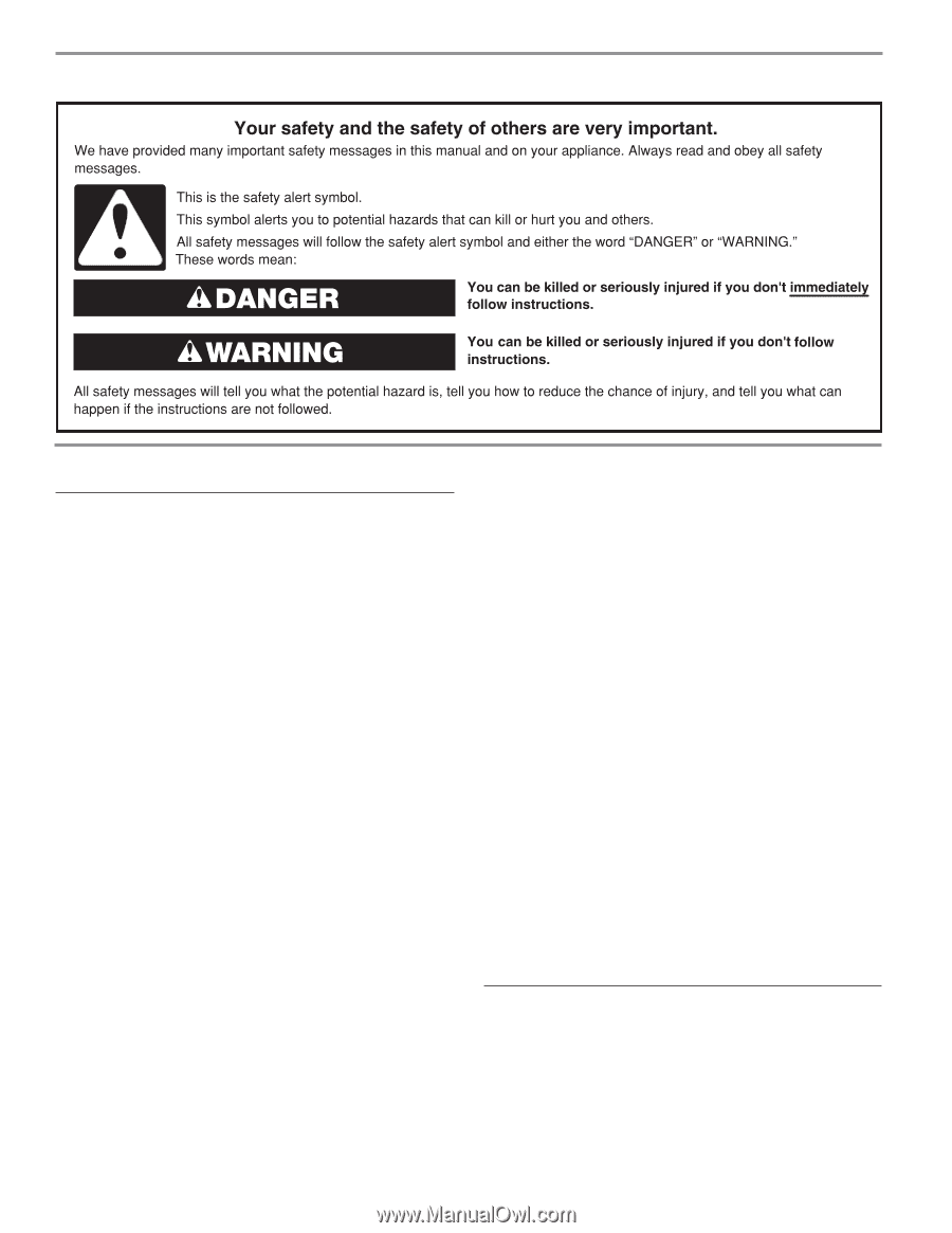 hight resolution of jenn air jmw3430ds installation instruction page 2
