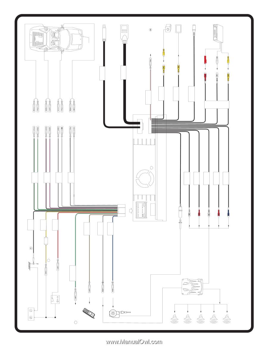 medium resolution of jensen vm9213 wiring harness 28 wiring diagram images clarion radio wiring diagram xo vision manual