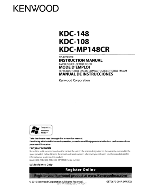small resolution of kenwood kdc 108 manual kenwood kdc 108 wiring diagram free picture
