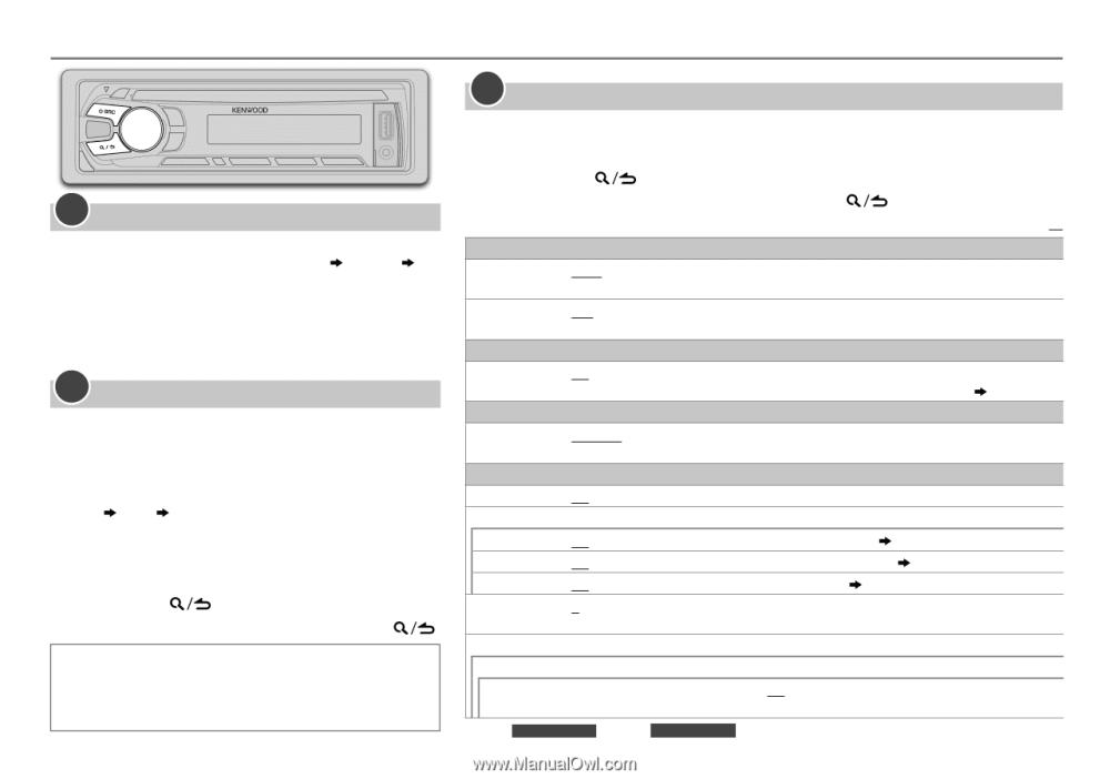 medium resolution of  kenwood kdc bt318u user manual on kenwood dpx500bt kenwood kdc 258u wiring diagram