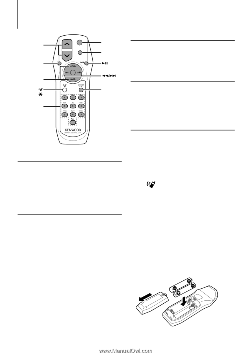 small resolution of kenwood kdc mp342u instruction manual page 17function of kdc mp342u english