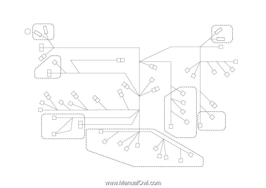 Wiring, Cn006, Reyb/scan, Fusing Unit, Cn124, Cn147a