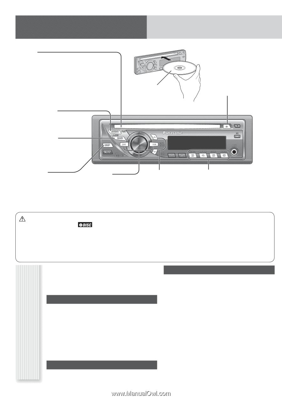 medium resolution of panasonic cq c1305u auto radio cd deck mult lang page 19 1 panasonic cq c1305u wiring diagram