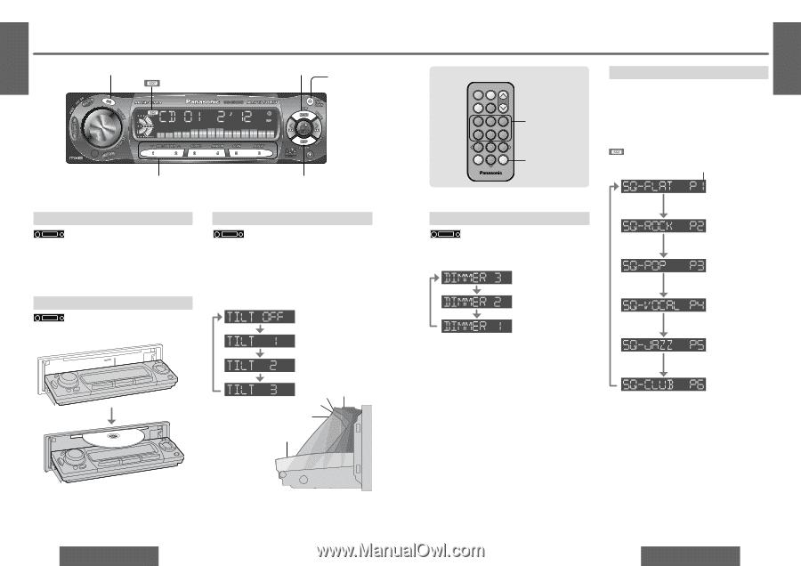 panasonic car audio wiring diagram 2006 pontiac g6 headlight cq c5110u library cqc5410u cqc5110u user guide vd7001u