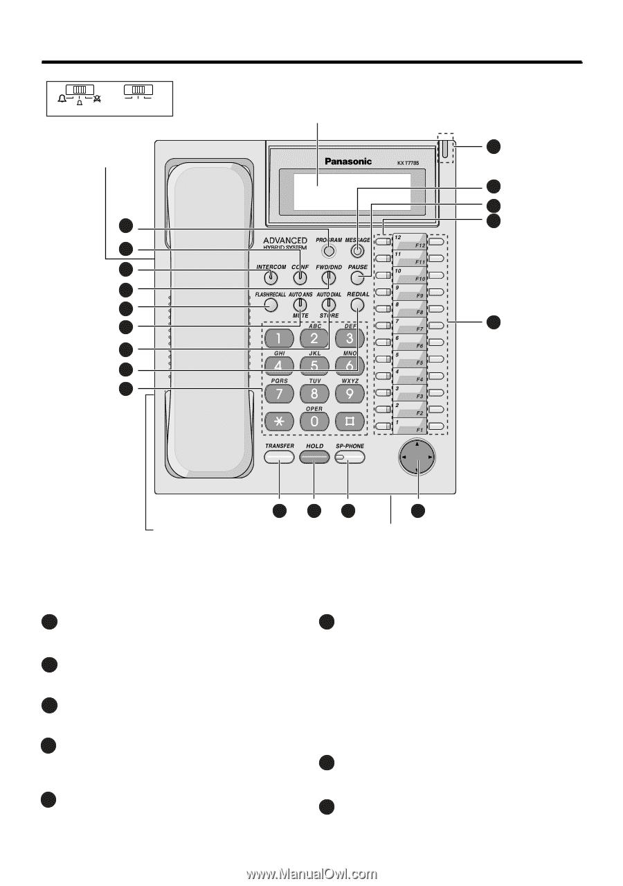 Bestseller: Panasonic Kx T7730 Programming Manual
