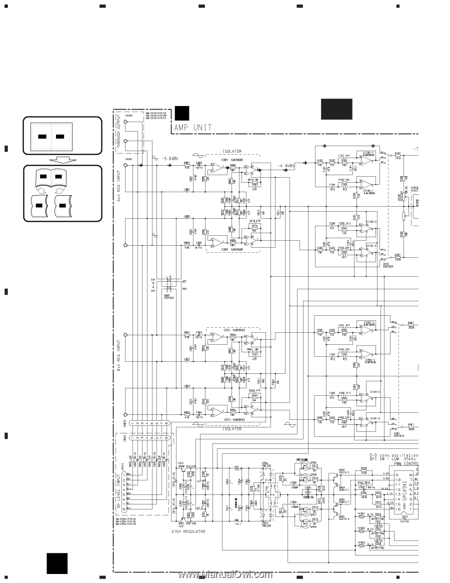 hight resolution of pioneer wiring diagram gm x434 wiring library pioneer gm x334 service manual gm x434 x334