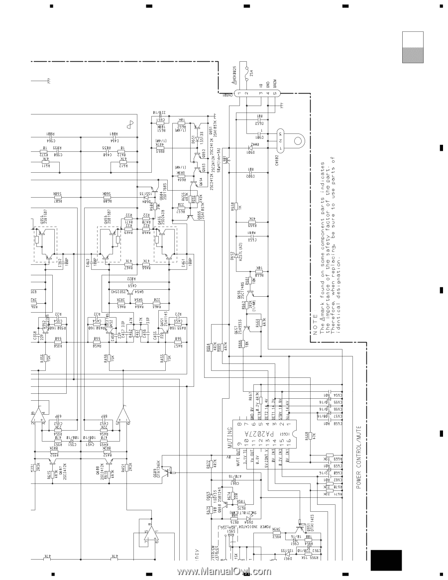 hight resolution of pioneer wiring diagram gm x434 wiring diagram blog pioneer gm x334 service manual pioneer wiring diagram