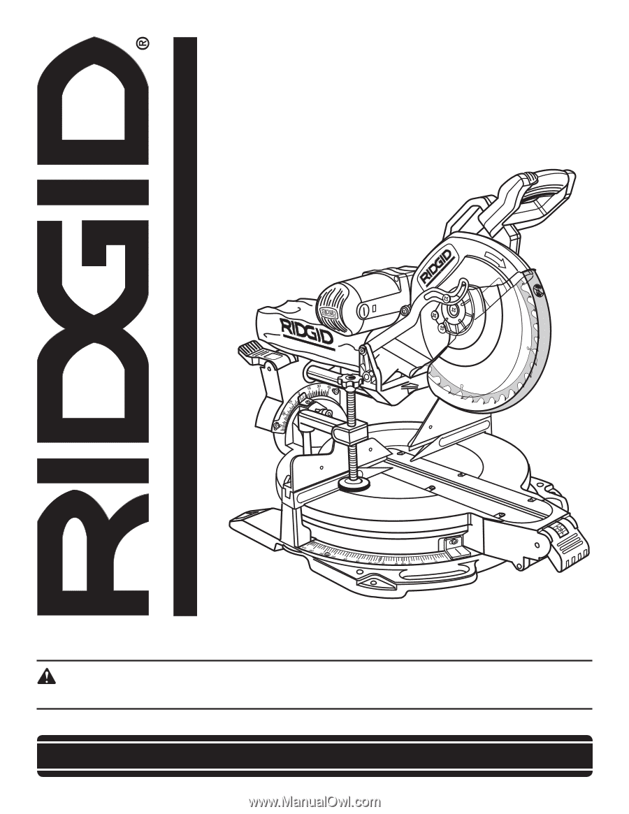 Ridgid Ms1290lza Lower Guard