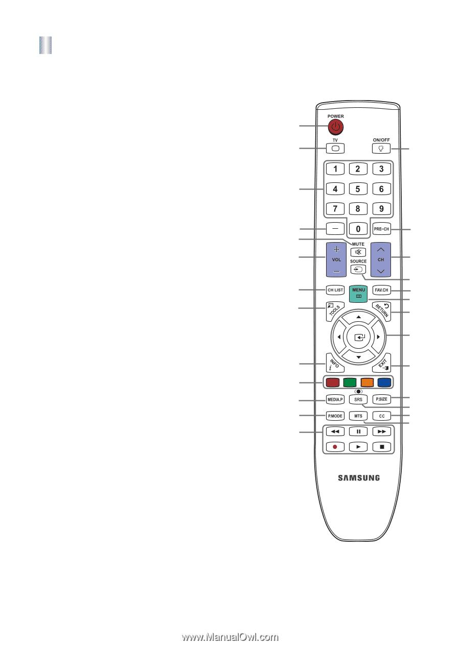 Samsung ln46b550k1fxza manual