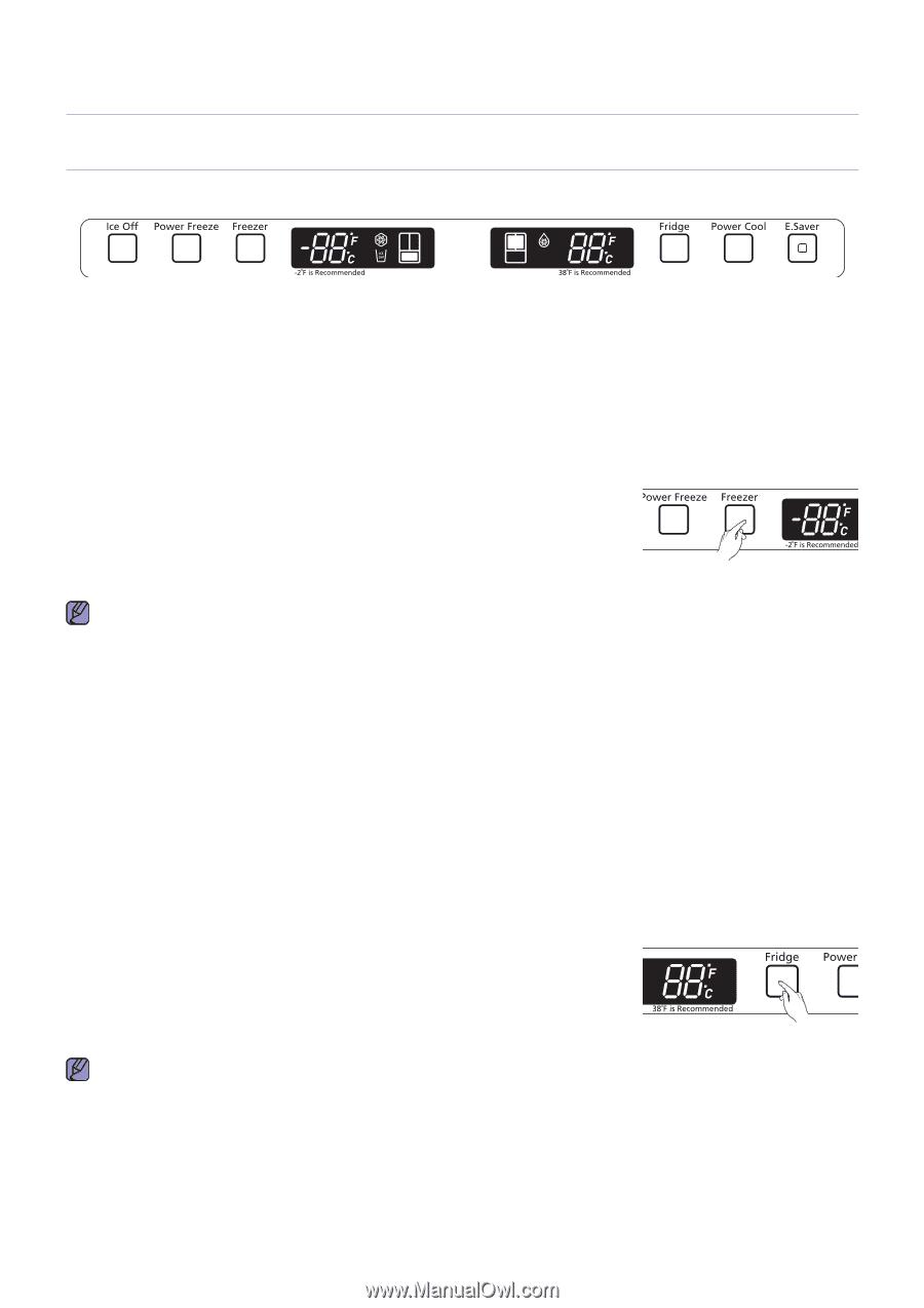 medium resolution of controlling the temperature samsung rf217acbp