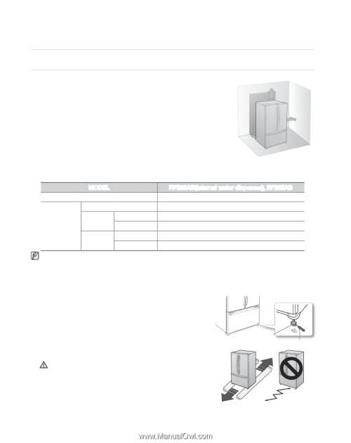 small resolution of setting up your french door refrigerator